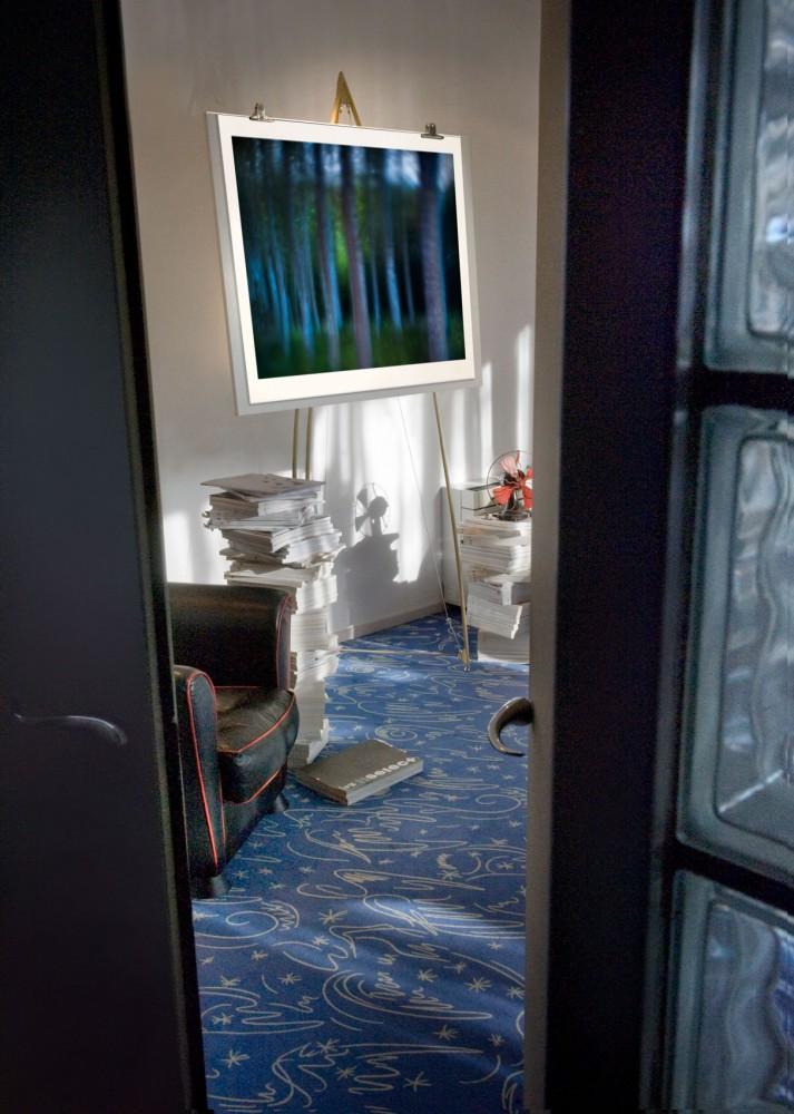 7. Studio interieur atmosphere: exhibition room